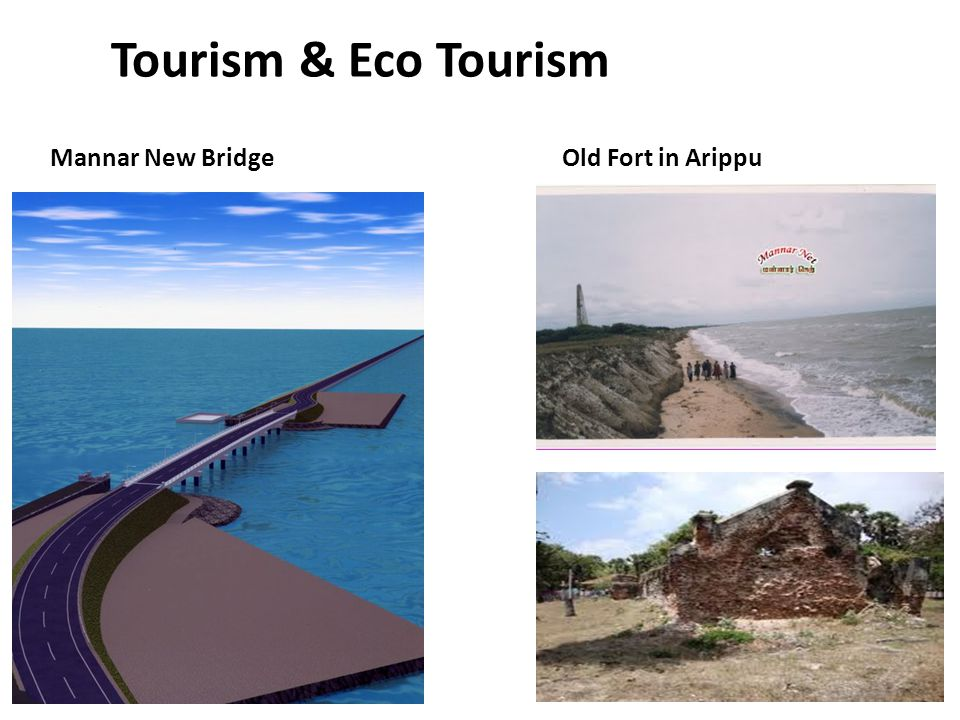 Tourism & Eco Tourism Mannar New BridgeOld Fort in Arippu