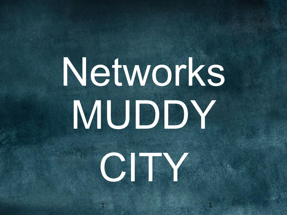 Networks MUDDY CITY 11