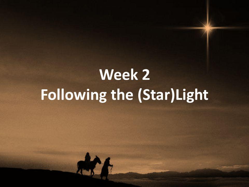Week 2 Following the (Star)Light