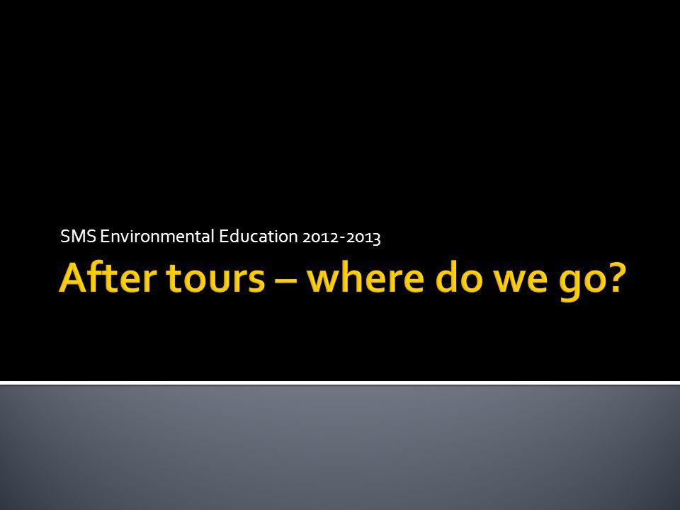 SMS Environmental Education 2012-2013