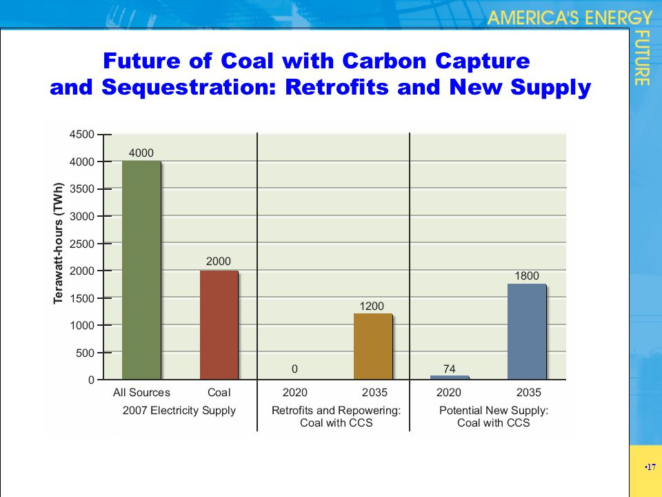 Future of Coal with Carbon Capture and Sequestration: Retrofits and New Supply 17