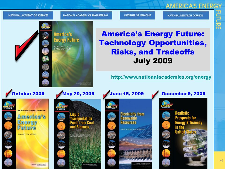 Finding 3: Electricity Supply Options The United States has many promising options for obtaining new supplies of electricity and changing its supply mix during the next two to three decades, especially if carbon capture and storage (CCS) and evolutionary nuclear technologies can be deployed at required scales.