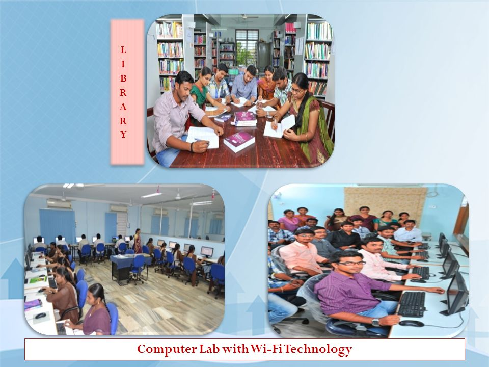 Computer Lab with Wi-Fi Technology