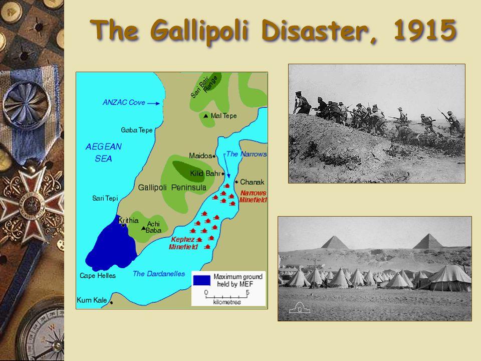 The Gallipoli Disaster, 1915