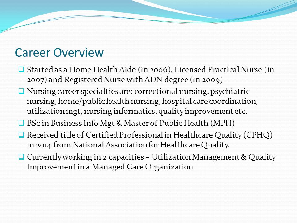 Introduction  The demand for BSN as a minimum requirement for certain leadership role in healthcare has led to the pursuit of this nursing program  BSN-prepared nurses are proven to deliver improved quality patient care leading to lower mortality, fewer medication errors and other measurable quality outcomes (American Association of Colleges of Nursing, 2014)  BSN is desired at this time to derive a more synergistic effect with the previous education, training, and expertise of this author to provide a more rewarding career advancement in healthcare.