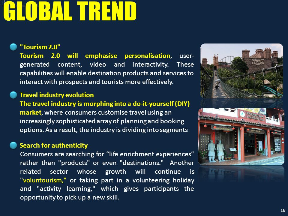 Recommendation GLOBAL TREND