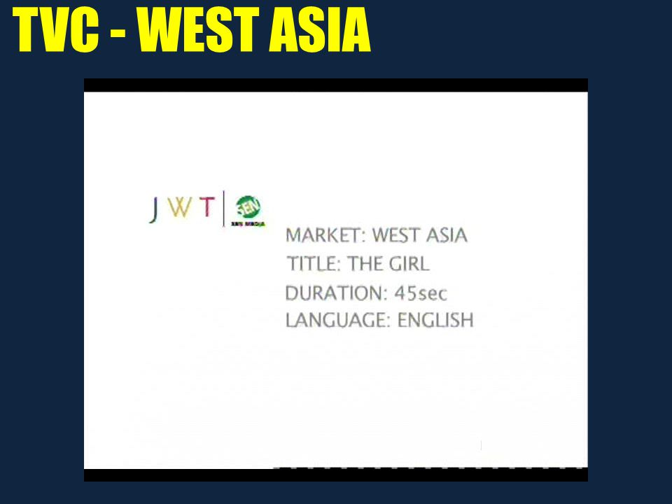 TVC - WEST ASIA