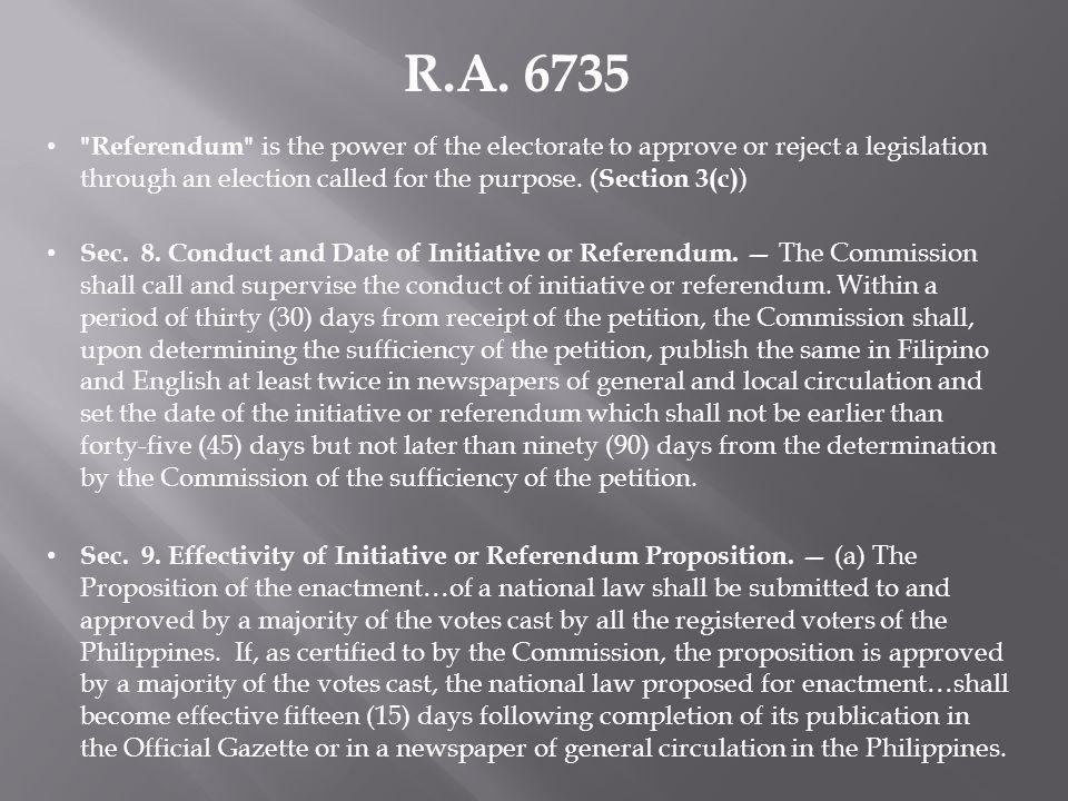 R.A. 6735