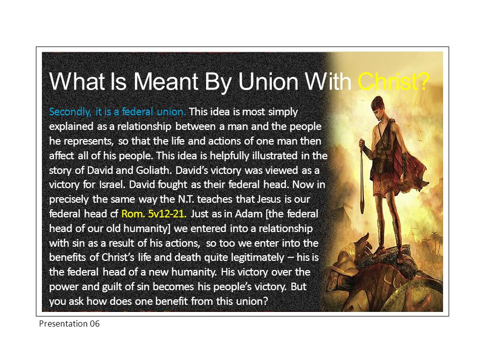 What Is The Result Of This Union Knowledge of our union with Christ also protects us in temptation.