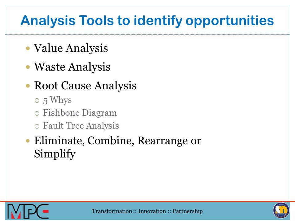 Transformation :: Innovation :: Partnership Process Streamlining – Removing NVA Eliminate Non-Value Add Tasks:  Handling  Paperwork  Counting, Issu