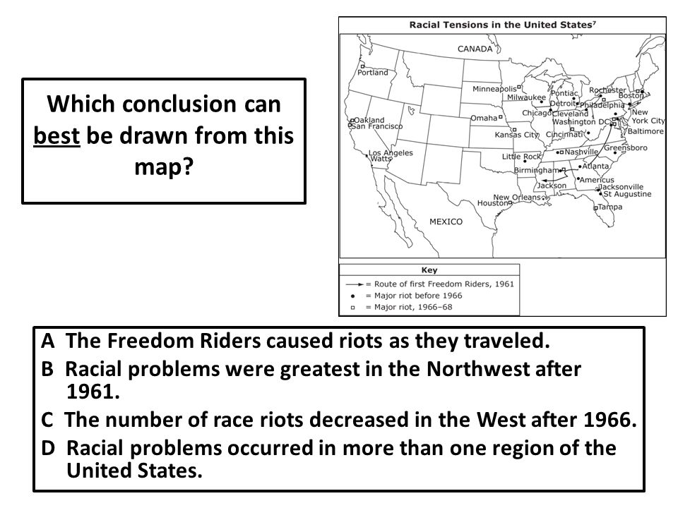 Which conclusion can best be drawn from this map.