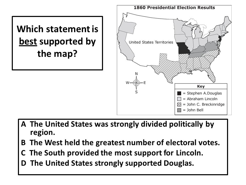 Which statement is best supported by the map.