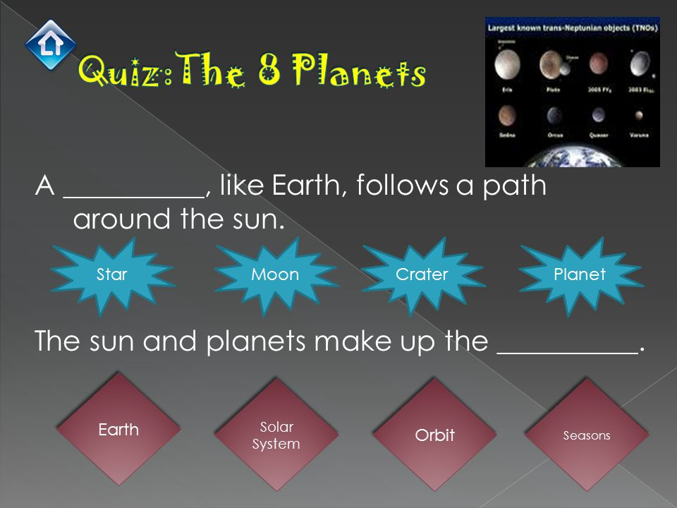  A star is a big ball of hot gases in space.Our sun is the closest star to Earth.