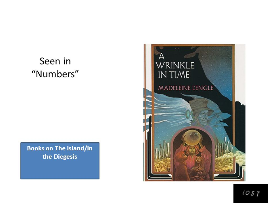 Books on The Island/In the Diegesis Seen in Numbers