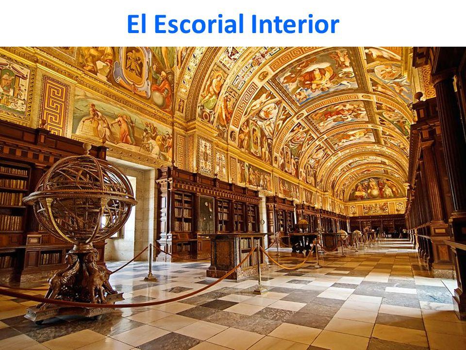 El Escorial Interior