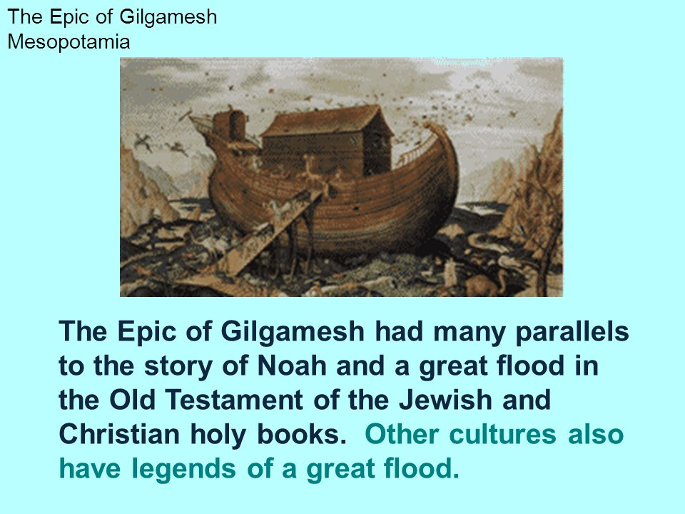 The Epic of Gilgamesh Mesopotamia Gilgamesh returned home with wisdom from his adventures with Enkidu and Utnapishtim. Gilgamesh became a gentle ruler