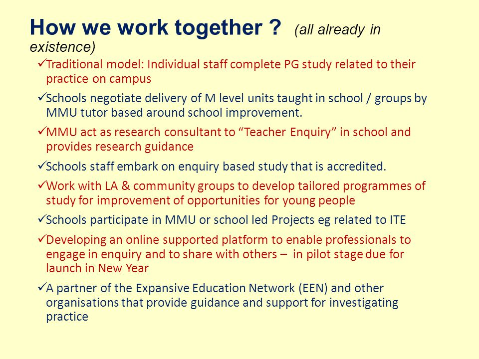 A research-rich culture that is connected and collaborative P23