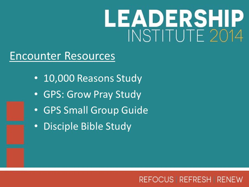 10,000 Reasons Study GPS: Grow Pray Study GPS Small Group Guide Disciple Bible Study Encounter Resources