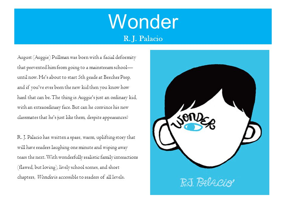 Wonder R. J.