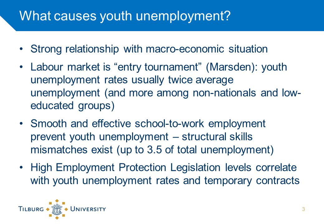 Youth unemployment 15-25yr NL 1969-2013