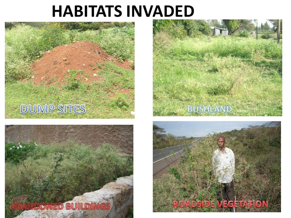 HABITATS INVADED