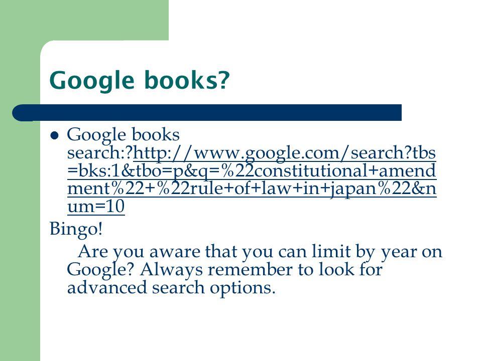 Google books.