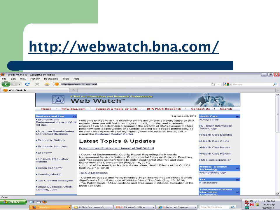 http://webwatch.bna.com/