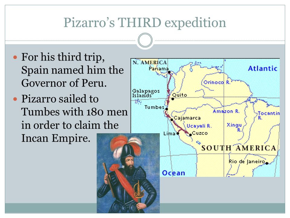 Inca Civil War When Pizarro arrived in Tumbes, he found that the Inca were engaged in civil war and suffering from a smallpox epidemic.