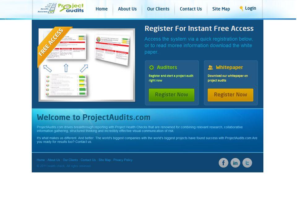 Access ProjectAudits.com