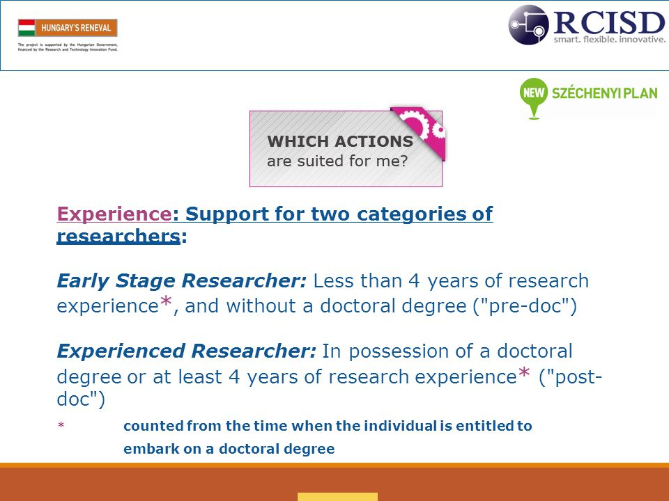  Look for a host institute and supervisor (you can only submit one application per call)  Design your research project  Consider appropriate secondment options  Think about the proposal in the context of the Evaluation Criteria (see Work Programme available on the Participant Portal)  Guide for Applicants published with the call To Prepare