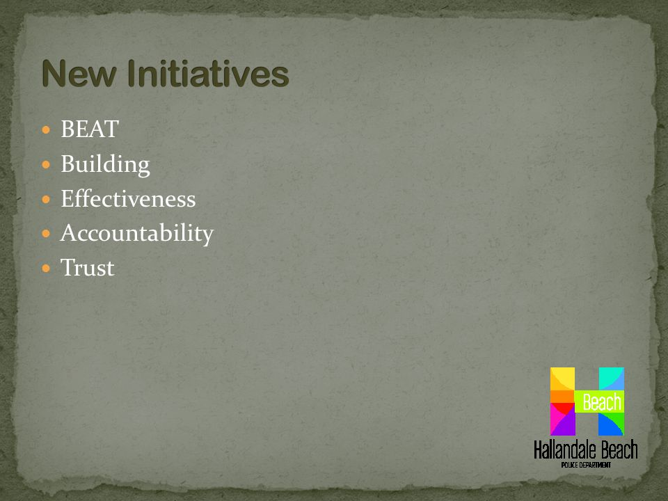 BEAT Building Effectiveness Accountability Trust