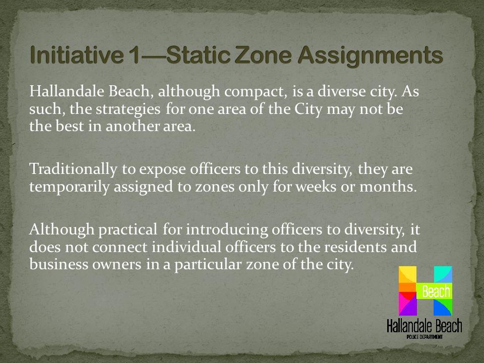 Hallandale Beach, although compact, is a diverse city.