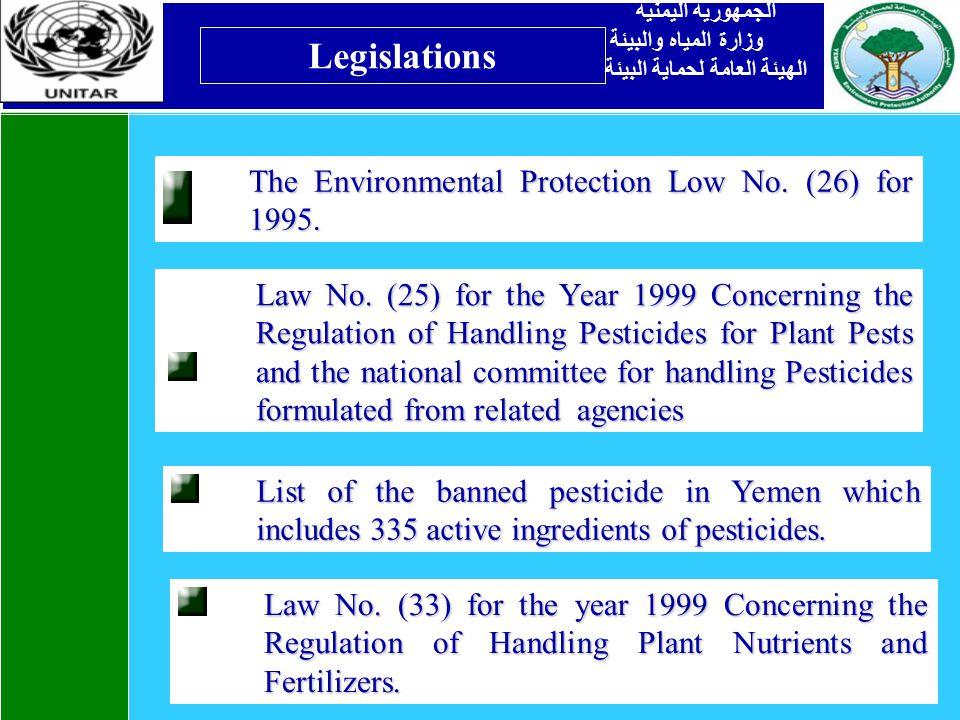 Legislations Law No.
