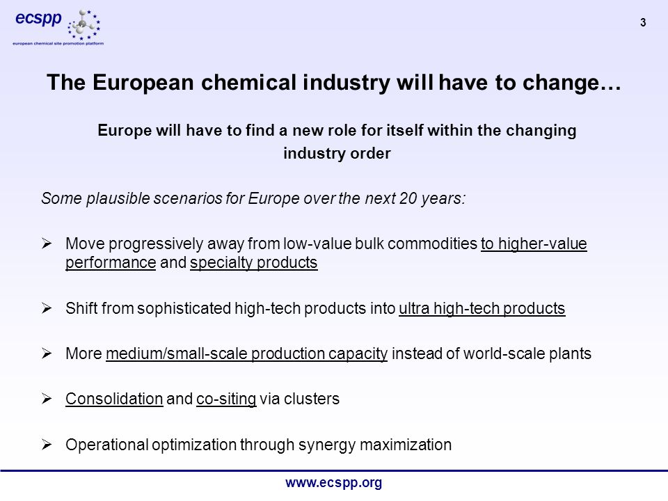 www.ecspp.org 4 Europe is also facing other challenges…..