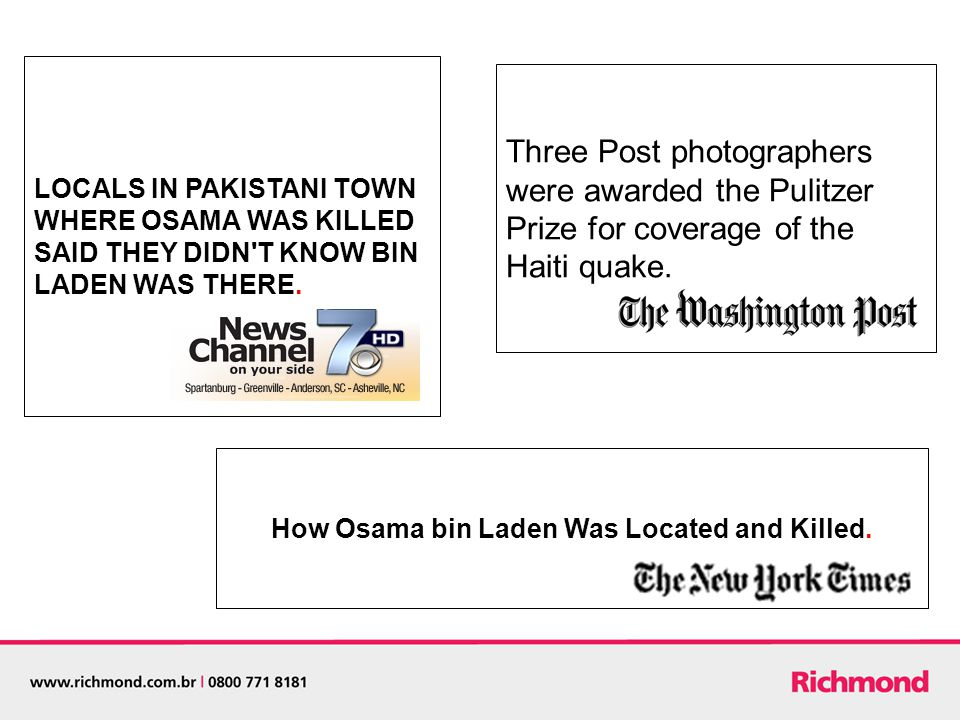 LOCALS IN PAKISTANI TOWN WHERE OSAMA WAS KILLED SAID THEY DIDN T KNOW BIN LADEN WAS THERE.