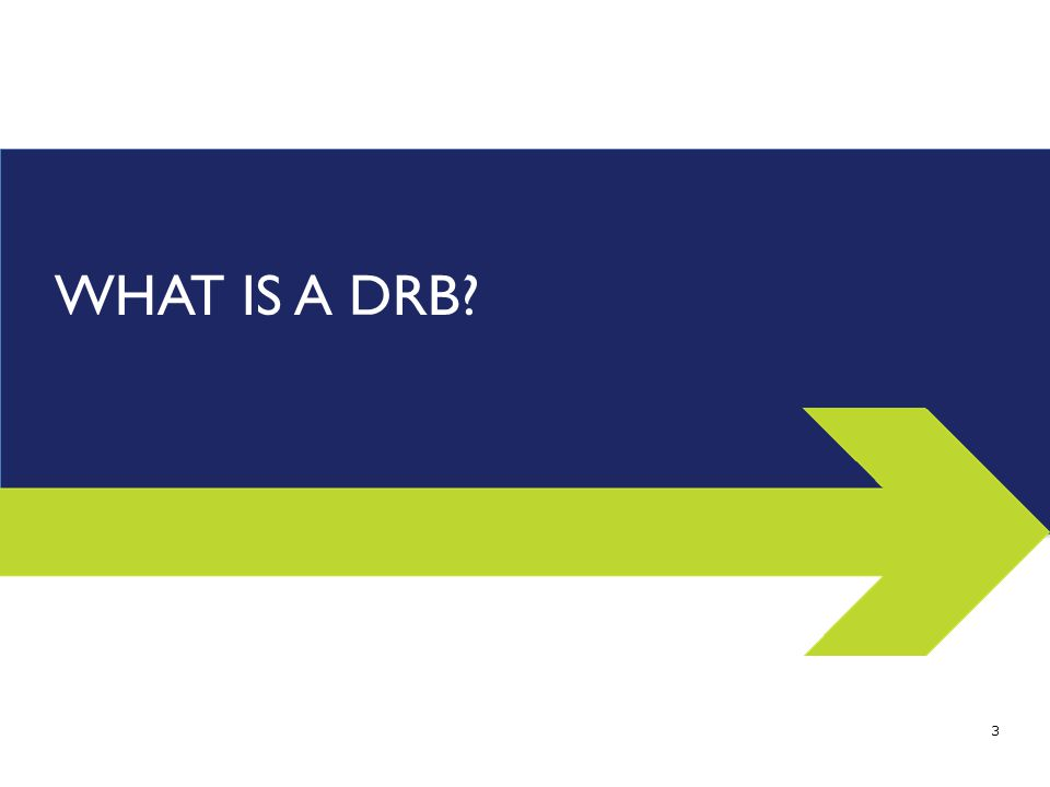 WHAT IS A DRB 3