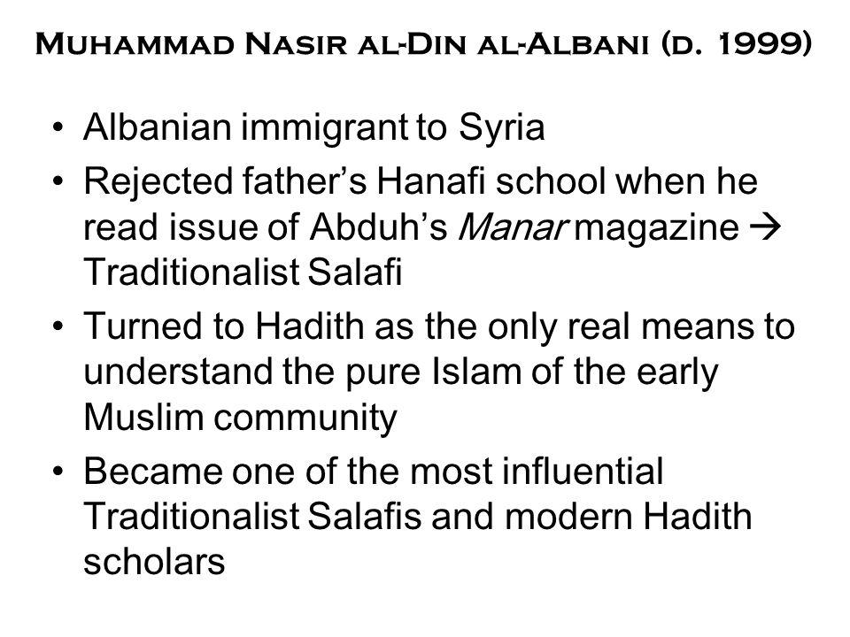 Muhammad Nasir al-Din al-Albani (d.