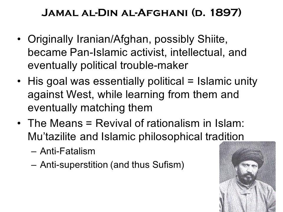 Jamal al-Din al-Afghani (d.