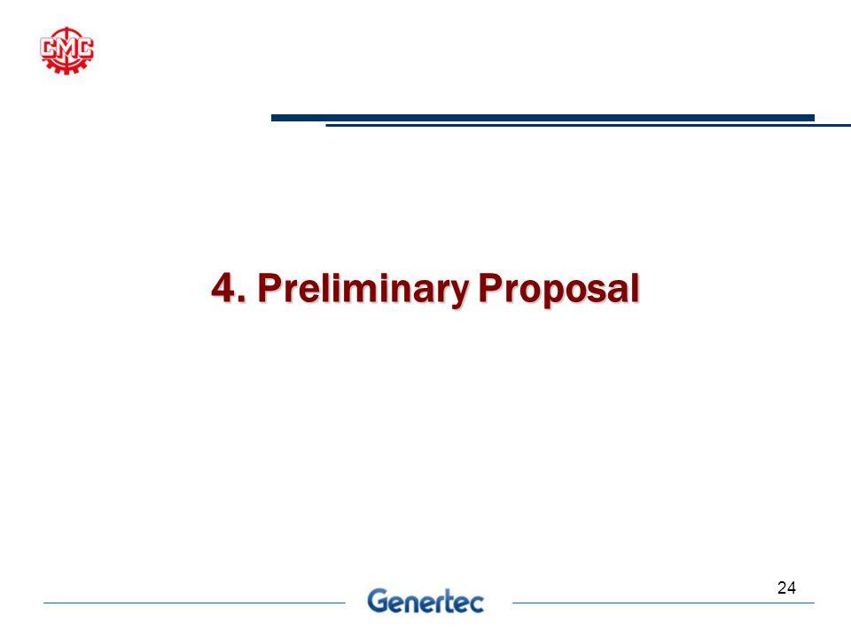 24 4. Preliminary Proposal