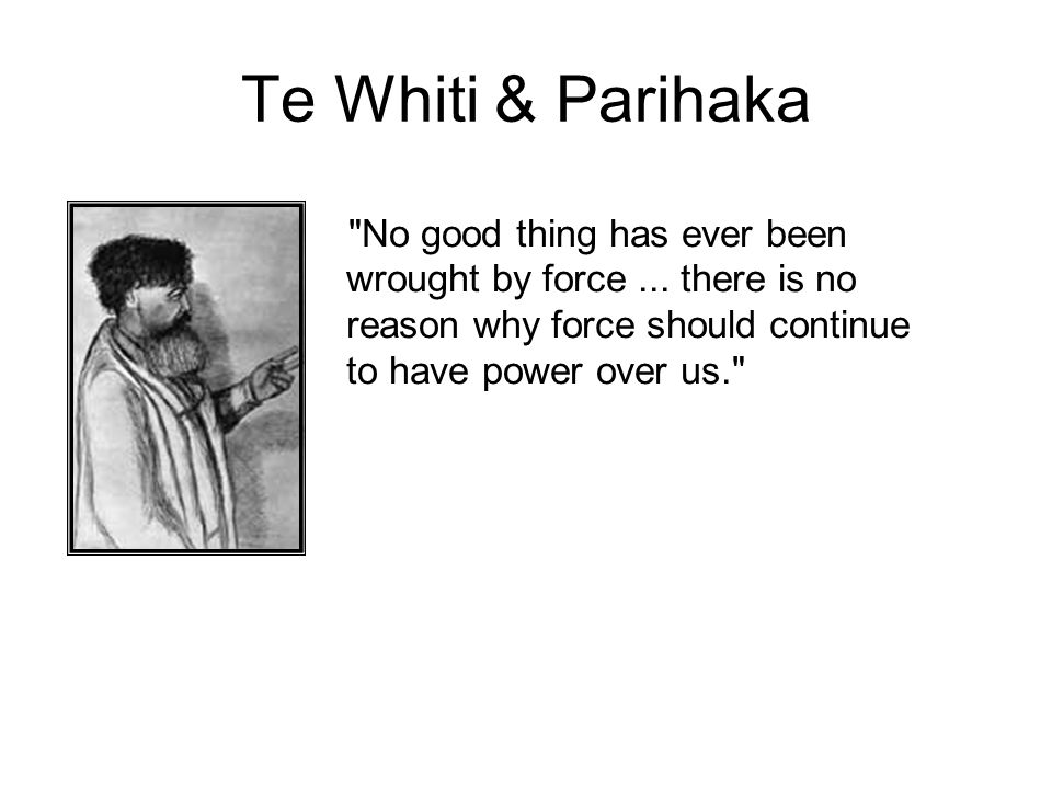 1881 Invasion & Exile The conflicts between the people of Parihaka and the settler- backed government came to a head in 1881.