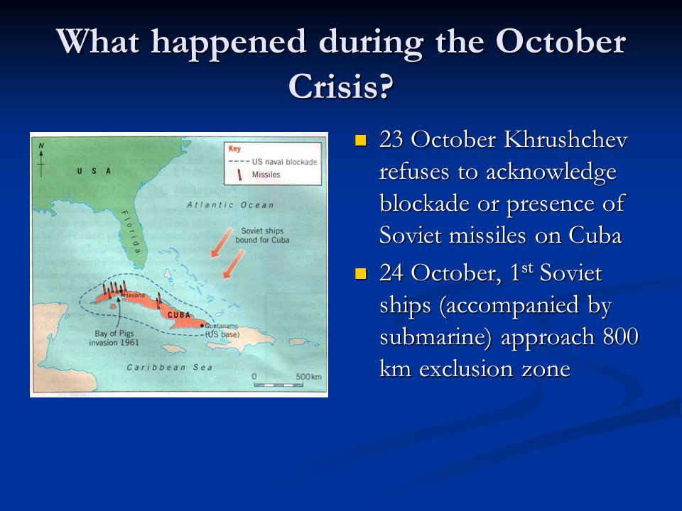 What happened during the October Crisis.