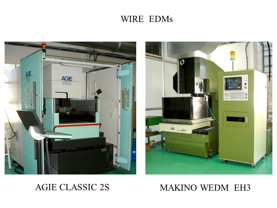 AGIE CLASSIC 2S WIRE EDMs MAKINO WEDM EH3