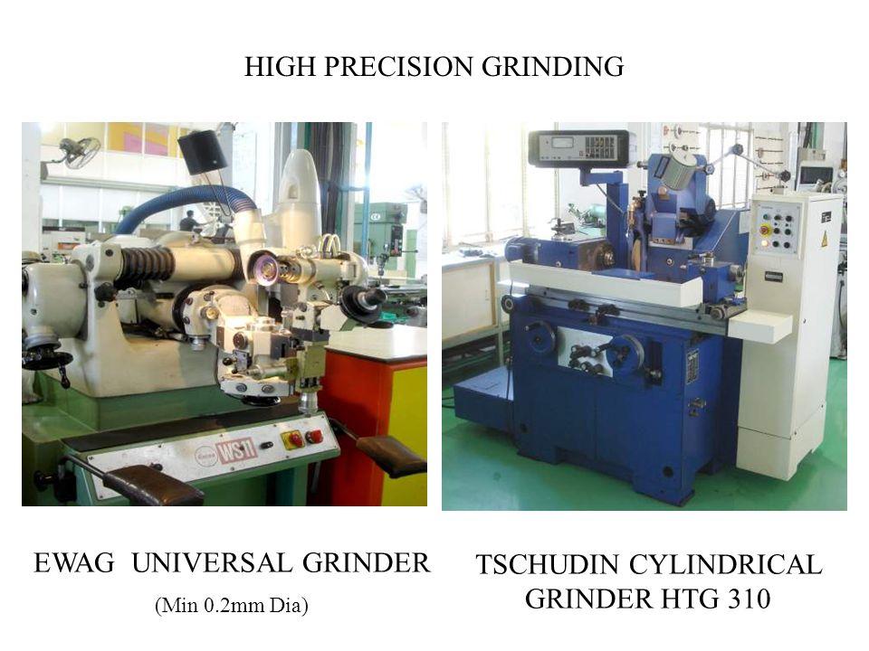 EWAG UNIVERSAL GRINDER (Min 0.2mm Dia) TSCHUDIN CYLINDRICAL GRINDER HTG 310 HIGH PRECISION GRINDING