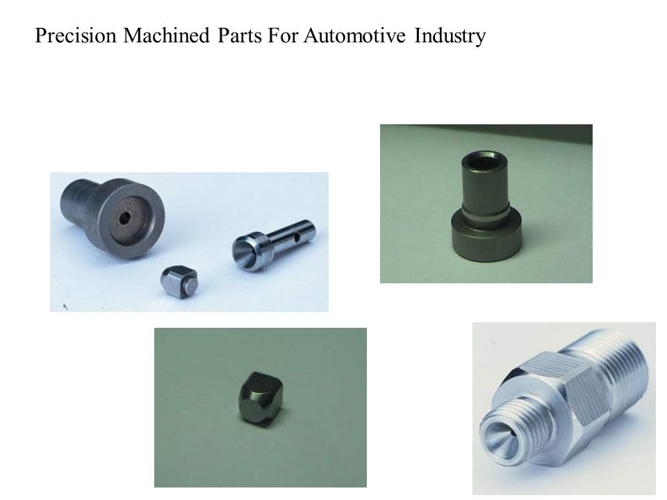 Precision Machined Parts For Automotive Industry