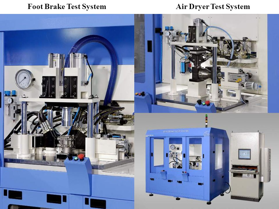 Air Dryer Test SystemFoot Brake Test System