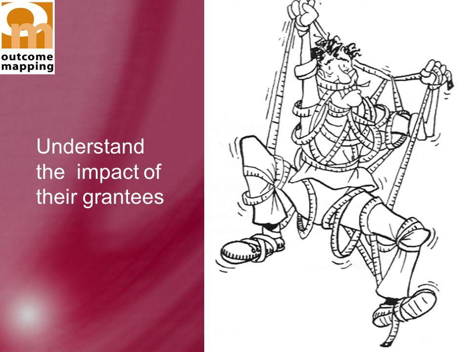 Goele Scheers and Ricardo Wilson-Grau Understand the impact of their grantees