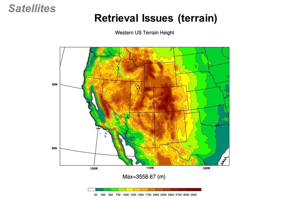 Satellites Retrieval Issues (terrain)