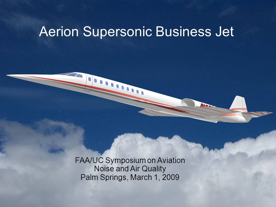 2 The Supersonic Challenge Supersonic business jet drivers/advantages –Global economy growth –Greater user productivity –Competitive operating costs‏ Supersonic flight also brings problems –Higher drag results in short range, heavy aircraft –Poor subsonic and airport performance –Most civil engines don't work in supersonic application –Sonic boom regulations restrict overland flight routes