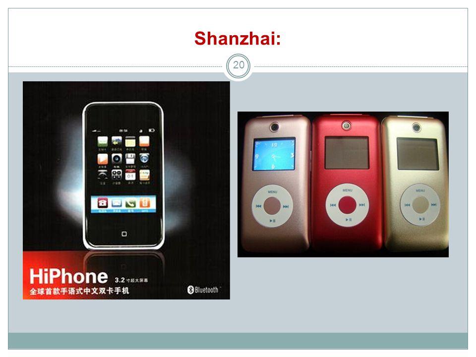 Shanzhai: 20