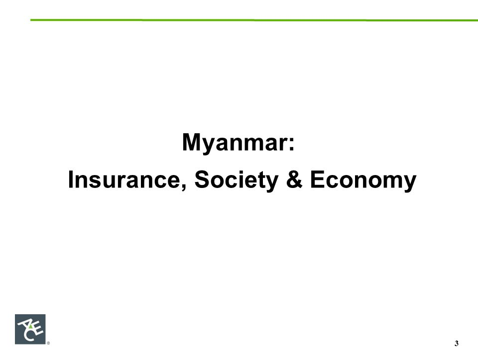 Ways Insurance Helps Promote & Protect Economic Growth: Encourages and Marshall's national savings Spreads Risk and Reduces Volatility Compliments and/or Substitutes Government Social Security Schemes (taking pressure off of government-funded schemes) Makes Trade, Investment and Commerce possible (Particularly International) Enhances private and public organizations' risk management Protects individual and corporate assets, attracts capital and sustains infrastructure development Provides much-needed protection and capital following natural catastrophes e.g., 2008 Cyclone Nargis which caused over US$10 Billion in damages 4